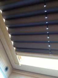 Skylight Pleated Blinds LUX